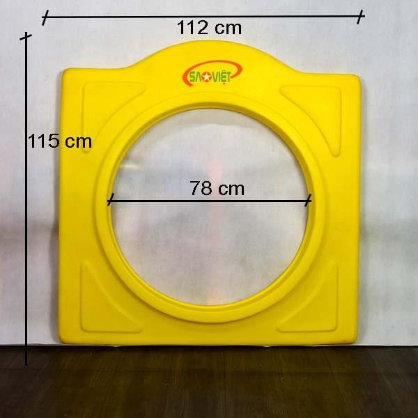 kích thước vách tròn chui nhà liên hoàn loại A NL04909A