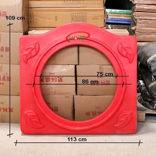 kích thước vách tròn chui nhà liên hoàn Loại B NL04909B