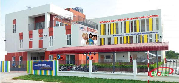 trường mầm non tốt ở Thuận An Bình Dương - Trường Mầm Non MMI Việt Nam
