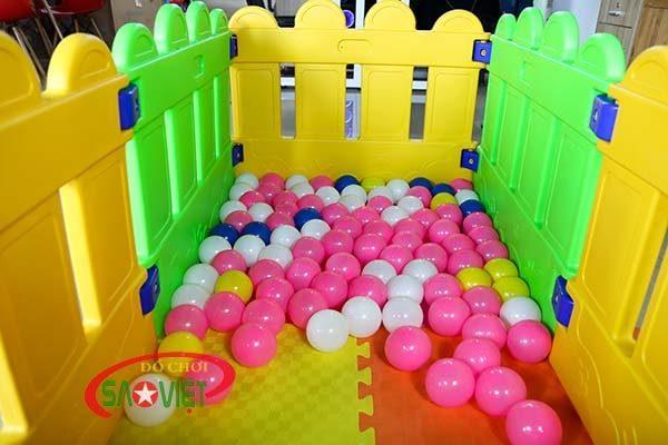 nhà banh mini cho bé mẫu giáo s08n03 2