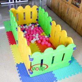 nhà banh mini cho bé mẫu giáo s08n03