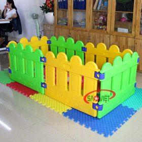 nhà banh mini cho bé mẫu giáo s08n03 3