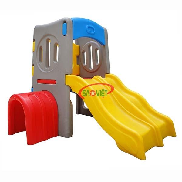 nhà chòi cầu trượt mini cho bé s03nm029