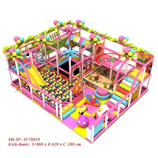 nhà liên hoàn vui chơi trẻ em buôn đôn s17s019