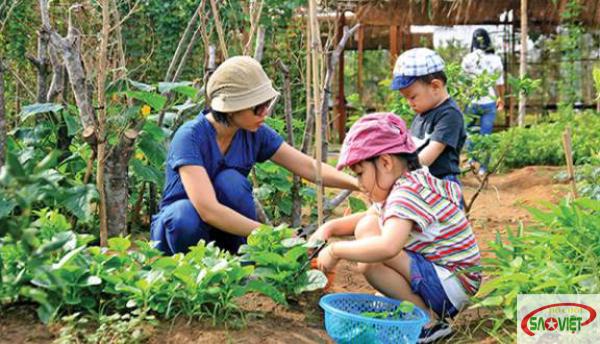 Khám phá một ngày làm nông dân tại Family Garden Thảo Điền