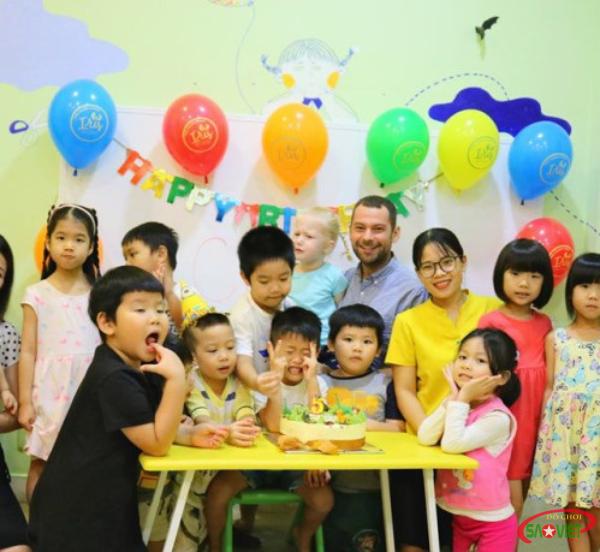 Hệ thống trường mầm non Iris International Preschool sử dụng chương trình giảng dạy quốc tế