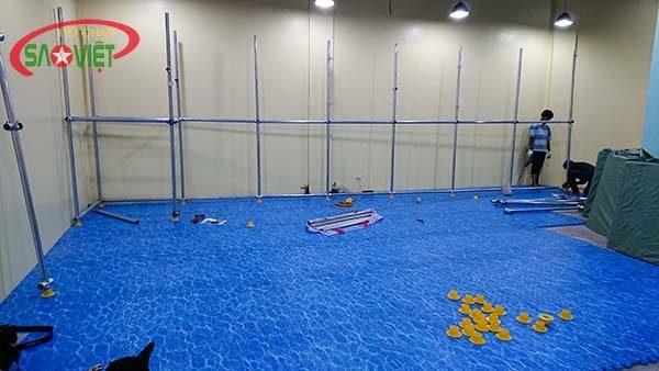 thảm xốp lót sàn 3D đại dương S015NB cho khu vui chơi trẻ em