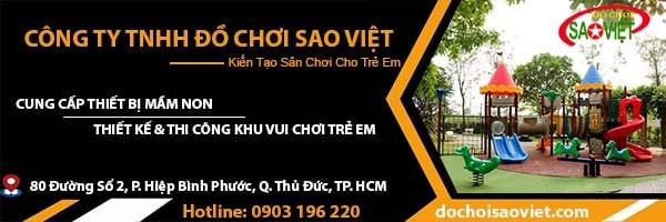 thiết bị mầm non Sao Việt