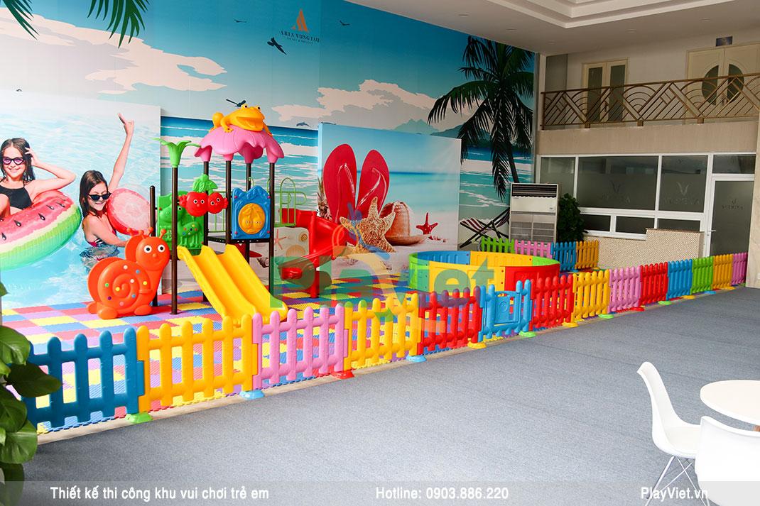Thiết kế khu vui chơi trẻ em 80m2 trong nhà miễn phí – Aria Vũng Tàu S19003