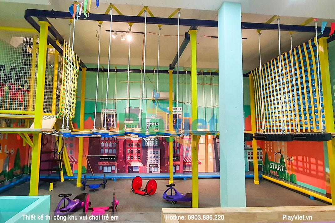 Ngây ngất với mẫu thiết kế khu vui chơi trẻ em trong nhà 400m2 S20003
