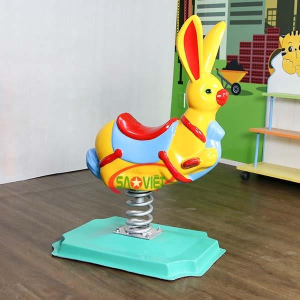 thú nhún lò xo con thỏ s12v03 3