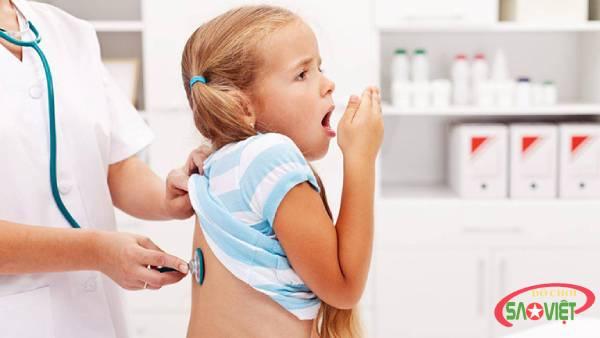 Cách chăm sóc trẻ bị viêm phế quản