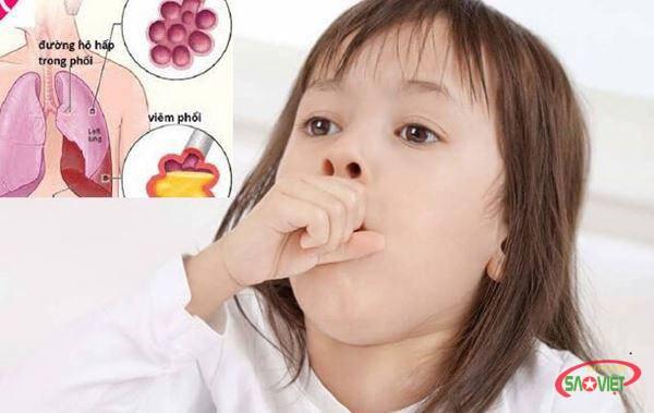 Thực đơn giúp trẻ bị viêm phổi nhanh khỏi bệnh