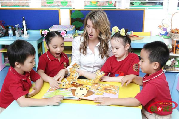 Review Trường mầm non quốc tế Việt Mỹ