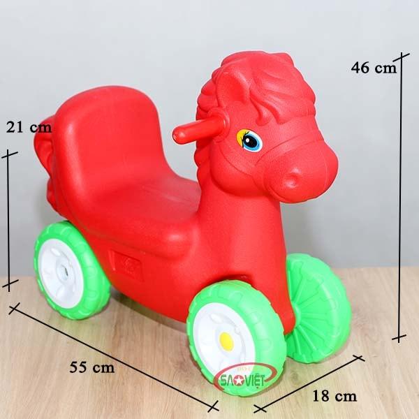 xe chòi chân con ngựa S18N25C