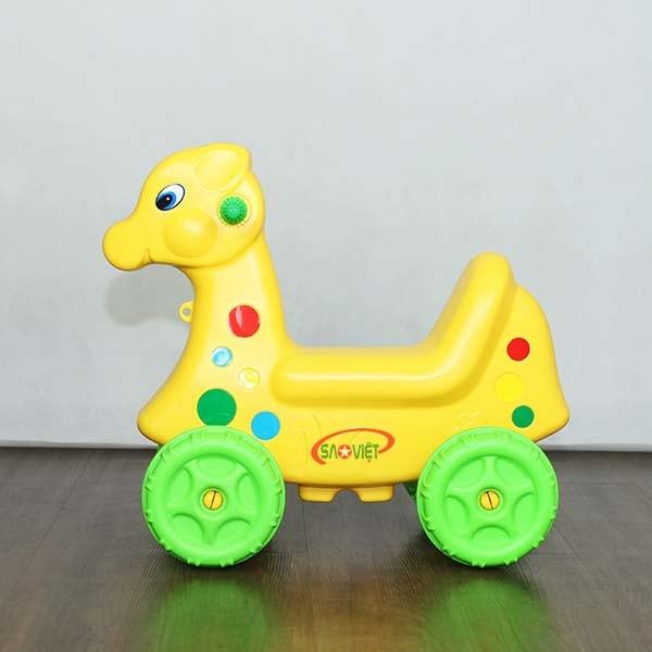 xe chòi chân con nai vàng cho bé S18N26