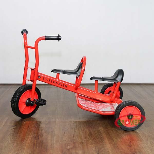xe đạp 3 bánh cho bé 2 chỗ cao cấp S19N45
