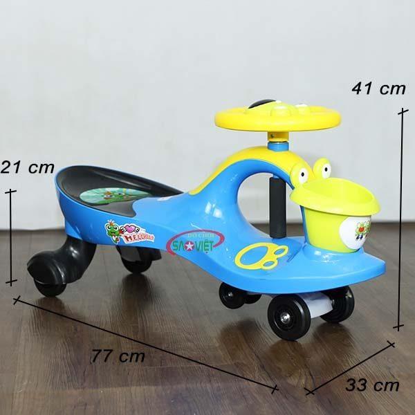 kích thước xe lắc crazy frog s18n46d